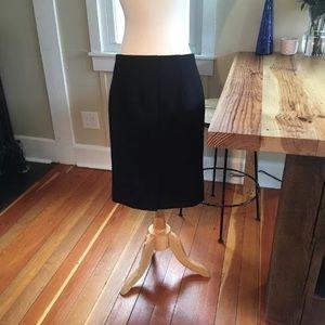 J. Crew Basic Wool Pencil Skirt 2